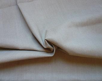 Voile de coton - beige sable - 50 cm
