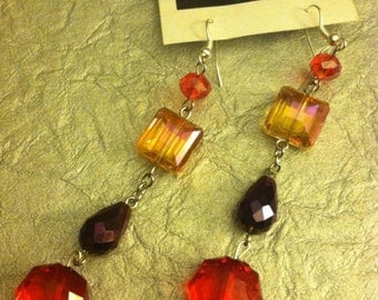 Sweet Jewel Tone Dangle