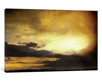 iCanvas Pouzol Sunset Gallery Wrapped Canvas Art Print by Thomas Darnell