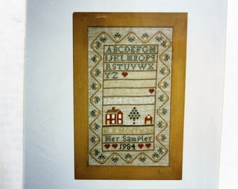 Cross Stitch Kit - Ramsgate Unlimited - The Pineapple Sampler