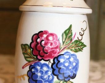 Vintage Knott's Berry Farm Jam Jar