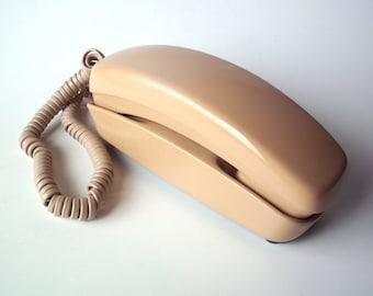 Vintage Western Electric Bell Trimline Touchtone Phone, Fleshtone