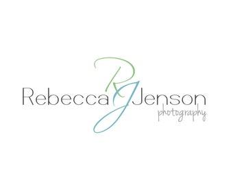 Photography Logo and Watermark, Premade Customizable Initials Logo Design