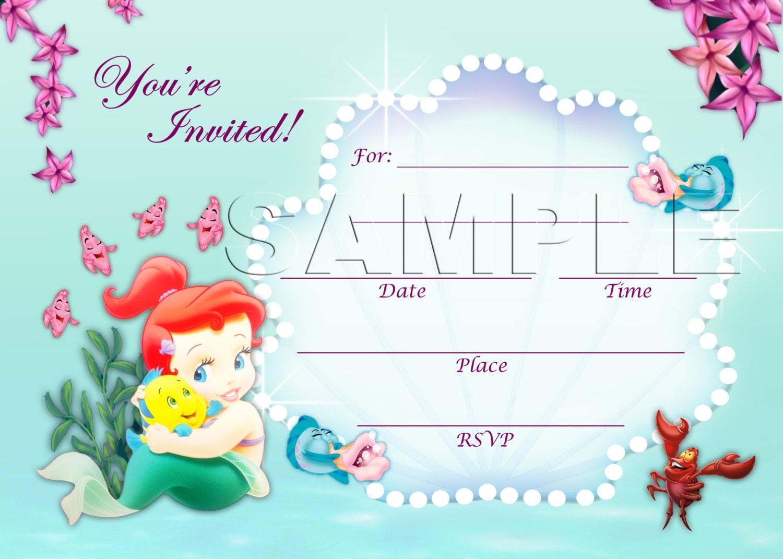 Disney Baby Shower Invitations Disney seasons greetings sample ...
