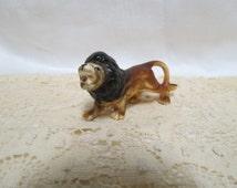 Vintage Bone China Lion
