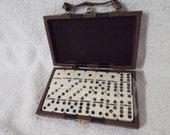Handsome Travel Spinner Domino Set in Case