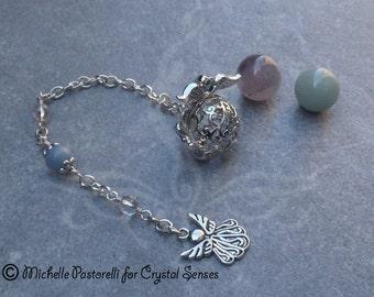 Angelic Interchangeable Sphere Dowsing Pendulum (DP0329b)