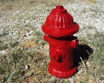 Stone Statuary Fire Hydrant, Handmade, Delightful