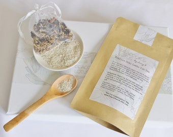 Vanilla Chai Latte Tub Tea Bath Soak All Natural