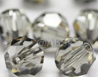 Promotion Item - 100 pcs Swarovski Elements 5000 5mm Crystal Round Beads - BLACK DIAMOND (While Stocks Last)