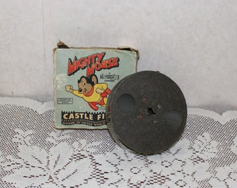 Mighty Mouse Castle Films 16mm Movie – Terry Toon Cartoon