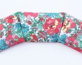 Organic lavender and flax seed heating pad - neck pillow - therapy pack - handmade
