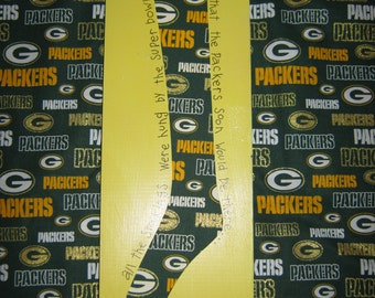 Green Bay Packer Super Bowl Sock