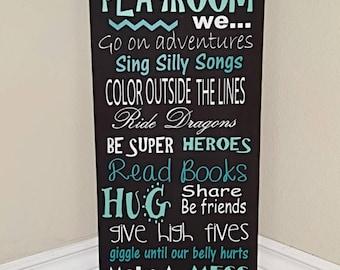 Playroom Sign