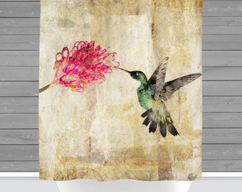 Bird Shower Curtain Etsy