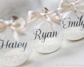 Monogrammed Ornament, Keepsake, Personalized Ornament, Collectible Christmas Ornament, wedding gift, children ornament, ornament for child