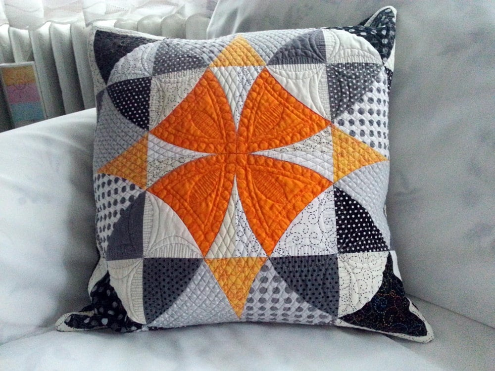 Modern Quilted Pillow Decorative Pillow Contemporary