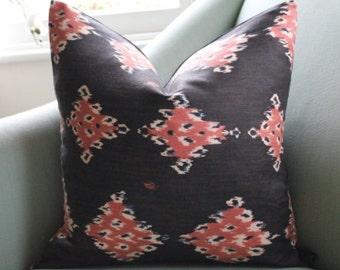 China Seas Ikat Pillow Cushion Cover