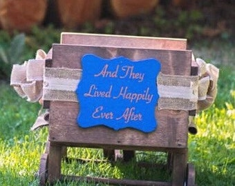 Wedding Wagon Sign Personalized Custom Made Wood Hand Crafted