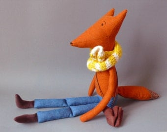 Foxy SALE!! Esteban 96 Fox Plush Softie Puppet Toy