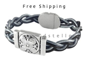 Celtic bracelet for men, women, Scottish gifts, Scottish jewellery, Celtic jewelry, Irish bracelet, Viking cuff, Custom made, Norse jewelry