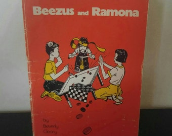 Vintage Beverly Cleary Book - Beezus and Ramona - 1965
