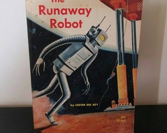 Vintage Sci-Fi Book - The Runaway Robot - 1967 (1965)