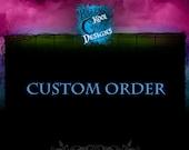 Custom Listing For Etsy Member LIASMOMMY29