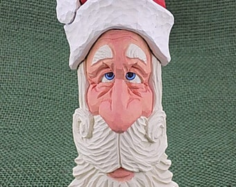 Whimsical Santa Ornament/Shelf Sitter