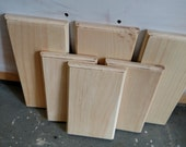 Wood blank signs