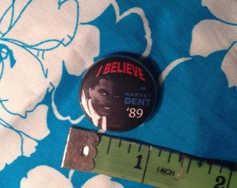 "Batman I Believe in Billie Dee Williams Harvey Dent 1"" button"