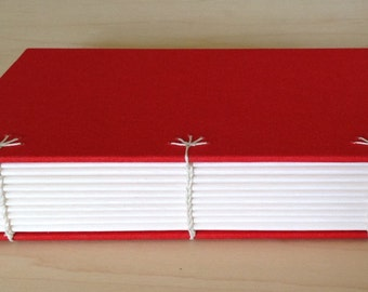 Tangerine journal with blank pages