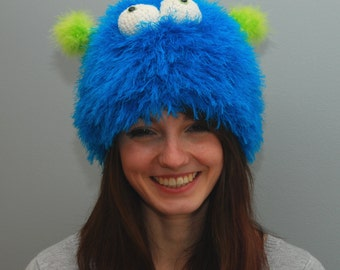 Fuzzy Monster Hat