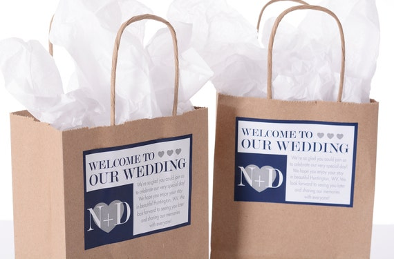 Hotel Wedding Welcome Bags 25 Out Of Town