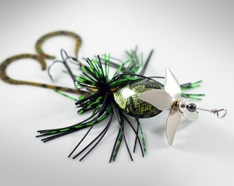 Frog Propeller Fishing Lure