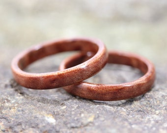 Myrtle Bentwood Ring Set - And We Plant A Tree:)