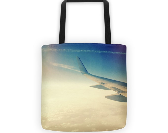 Wanderlust Travel Tote for Eco Shopping and School and Sundry