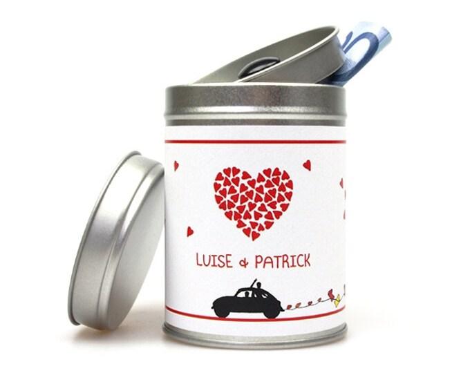 HEART Wedding Gift Box customizable