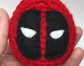 Cute Kawaii Deadpool Tamagotchi 4u or 4u plus Crochet Cover