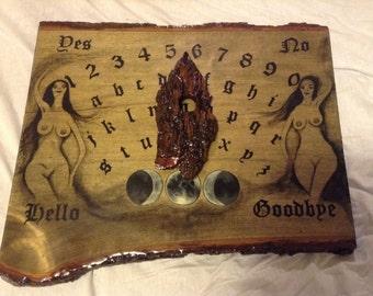 Ouija Board / Handmade Ouija Board / Witchboard