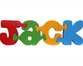 Wooden Name Puzzle - Custom Personalized Name Puzzles - Australian Handmade