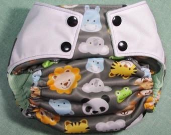 "Cloth Diaper ""Baby Animals"""
