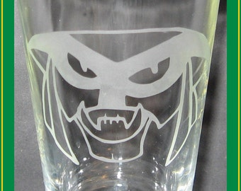 Brak SGC2C drinking glass - Space Ghost (Coast to Coast) etched pint