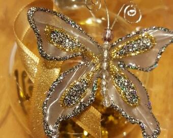 Childhood Cancer Ornament