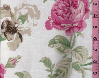 Flirt Rose Floral Fabric by Robyn Pandolph for Westminster Fabrics - By the Yard