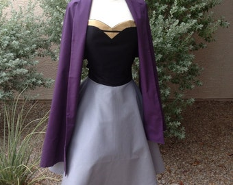 Briar Rose costume apron dress with shawl