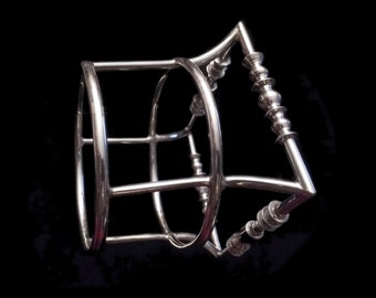 Human Singularity Bracelet - Sterling Silver Bracelet of Legend
