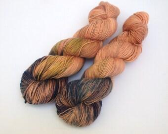 Hand Dyed Fingering, Sock Yarn Singles, 100% Superwash Merino, Simply Sheep Singles, Lox and Lox