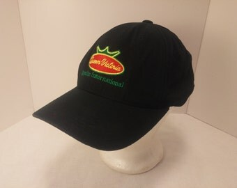 Vintage 1990s Trucker Ball Cap - Queen Victoria Ippolito International-  Hipster, Rockabilly, Grocery, Produce, Retro, Accessories