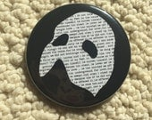 Phantom Mask & literary Button